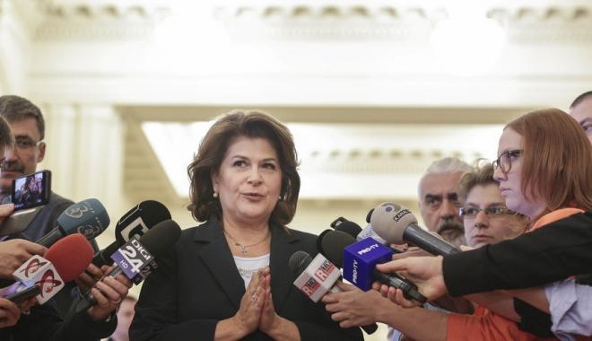 Foto: Rovana Plumb: Trebuie convocat urgent CExN al PSD pentru a tranşa criza politică
