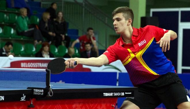 Foto: Cristi Pletea s-a calificat în 16-imile ITTF Belarus Open