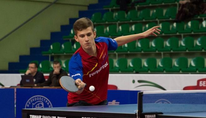 Foto: Cristian Pletea  a devenit  campion european  la tenis de masă