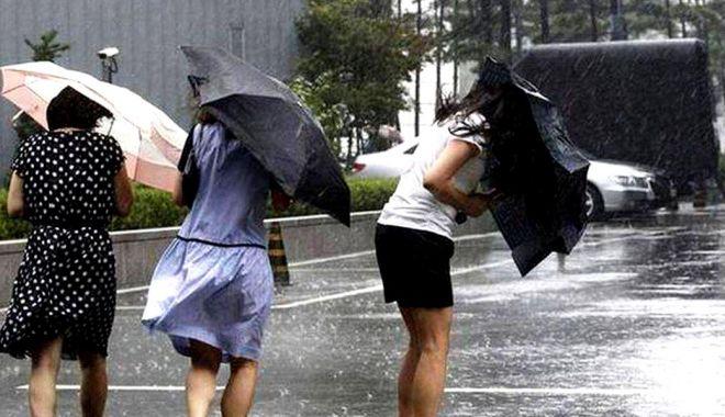 Foto: ALERTĂ METEO de vreme severă. Cod GALBEN de ploi însemnate cantitativ, la Constanţa