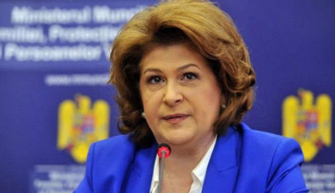 Foto: Rovana Plumb, ministru interimar al Educației