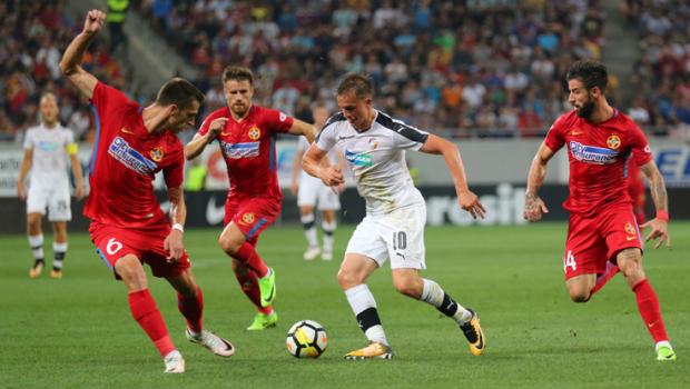 Foto: FCSB s-a calificat în play-off-ul Ligii Campionilor, după patru goluri în poarta celor de la Viktoria Plzen