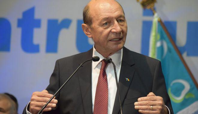 """Foto: Traian Băsescu: """"Este o inițiativă de nepermis. PMP respinge această abordare"""""""