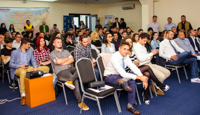 Foto: Liberalul Bogdan Bola a predat ştafeta tinerilor din PNL Constanţa