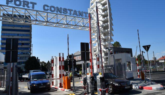 Foto: Poarta 1 a Portului Constanța, redeschisă traficului auto