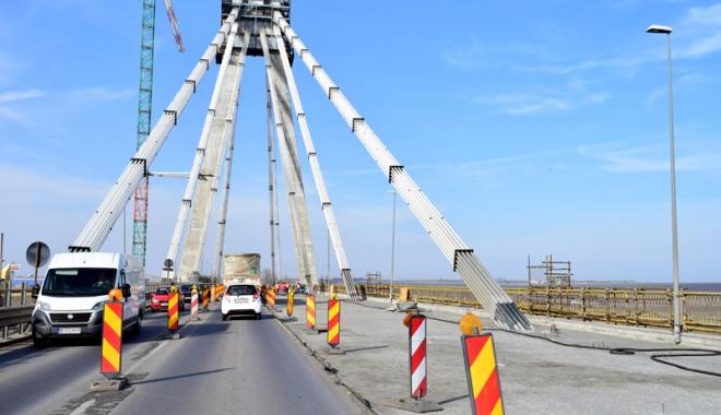 Foto: Încă un 1 Mai de coşmar, pe Podul Agigea. Ce trebuie să ştie şoferii