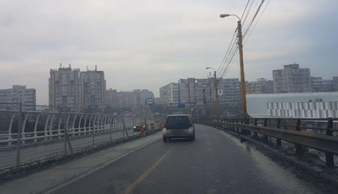 Proiect realizat pe jumătate. Podul de la Butelii, redeschis pentru maşini, periculos pentru pietoni - pod10-1544029263.jpg