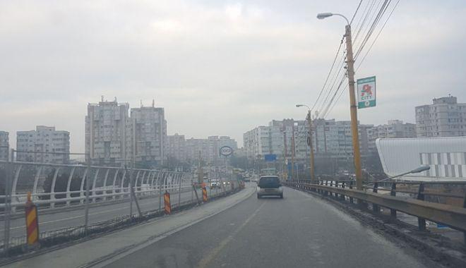 Proiect realizat pe jumătate. Podul de la Butelii, redeschis pentru maşini, periculos pentru pietoni - pod111-1544029181.jpg