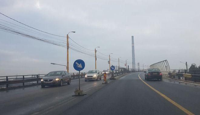 Proiect realizat pe jumătate. Podul de la Butelii, redeschis pentru maşini, periculos pentru pietoni - pod2-1544029202.jpg