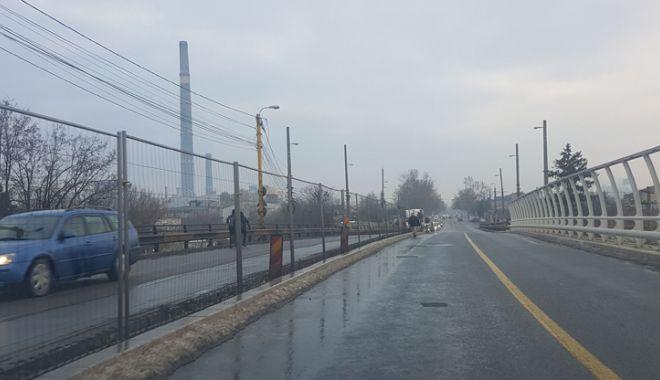 Proiect realizat pe jumătate. Podul de la Butelii, redeschis pentru maşini, periculos pentru pietoni - pod6-1544029212.jpg