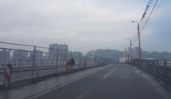 Proiect realizat pe jumătate. Podul de la Butelii, redeschis pentru maşini, periculos pentru pietoni - pod9-1544029230.jpg