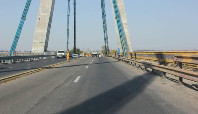 Foto: Noi restricţii de circulaţie pe podul de la Agigea