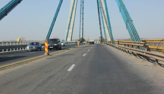 Foto: Atenţie, şoferi! Restricţii de circulaţie pe podul de la Agigea