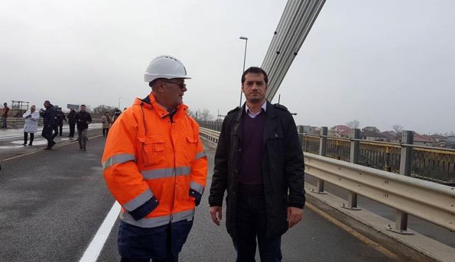 Foto: S-a redeschis Podul de la Agigea