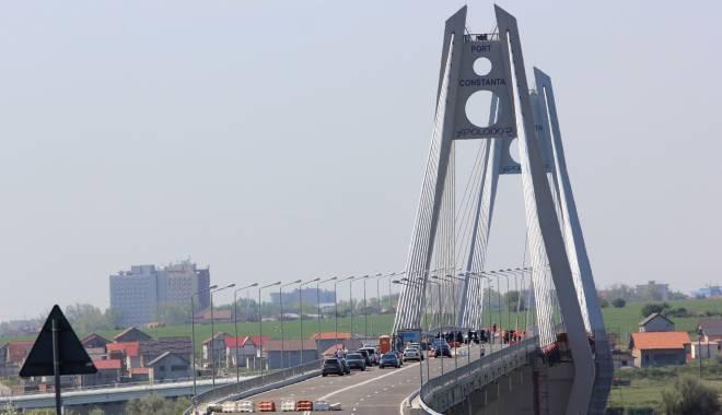 Foto: Ve�ti bune! Se deschide noul pod de la Agigea!