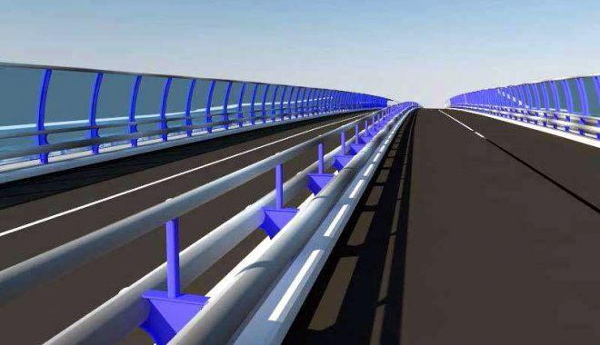 Foto: Când va fi gata Podul de la Butelii şi cum va arăta acesta