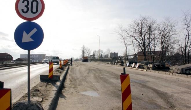 Foto: Podul IPMC va fi închis. Iată când!