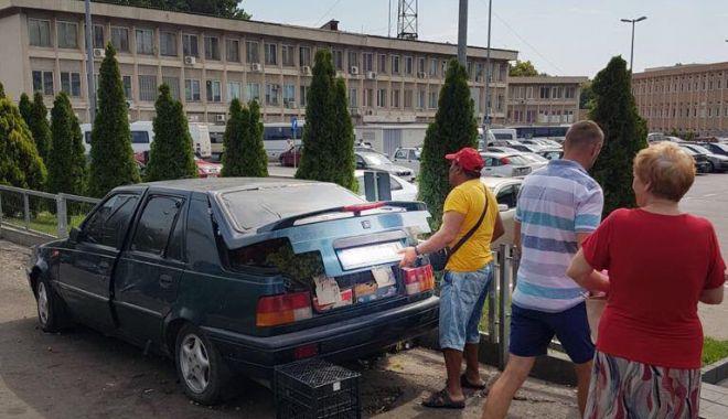 Foto: VIDEO. POLIŢIA LOCALĂ FACE CURĂŢENIE ÎN PIAŢA TOMIS 3