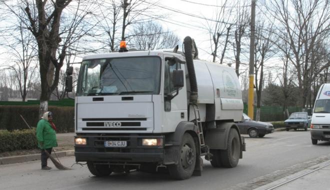 Foto: Cât va mai face Polarisul curăţenie în Constanţa? Primăria insistă pentru suspendarea contractului
