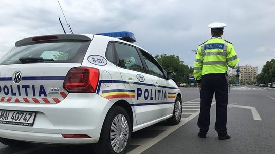 Foto: Poliţist, în stare gravă după ce a fost lovit de o maşină în care se aflau traficanţi de droguri