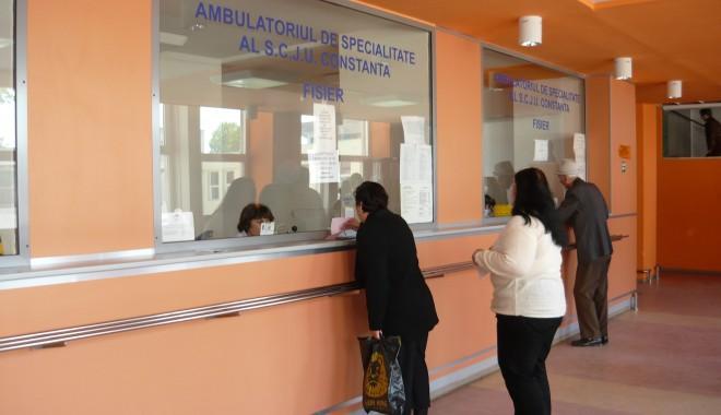 Foto: Policlinica 1 din Constanţa, reabilitată de un ONG