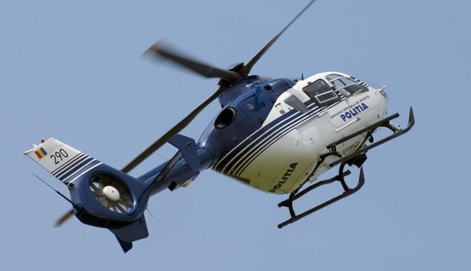 Foto: Traficul spre Constanţa, monitorizat din elicopter în minivacanţa de Rusalii