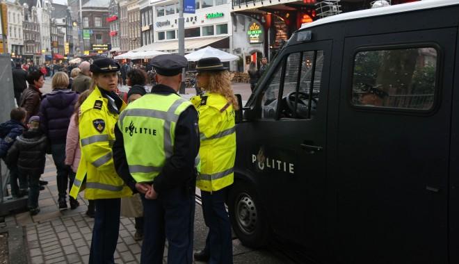 Foto: Patru suporteri steliști au fost arestați în Amsterdam, înaintea meciului cu Ajax
