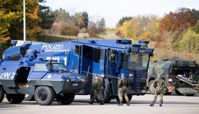 Foto: Poliția și armata, amplu exercițiu antiterorist în sud-vestul Germaniei