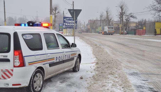 """Foto: VIDEO. Maşini blocate pe şosele. """"Trebuie limitat pe cât posibil traficul!"""""""