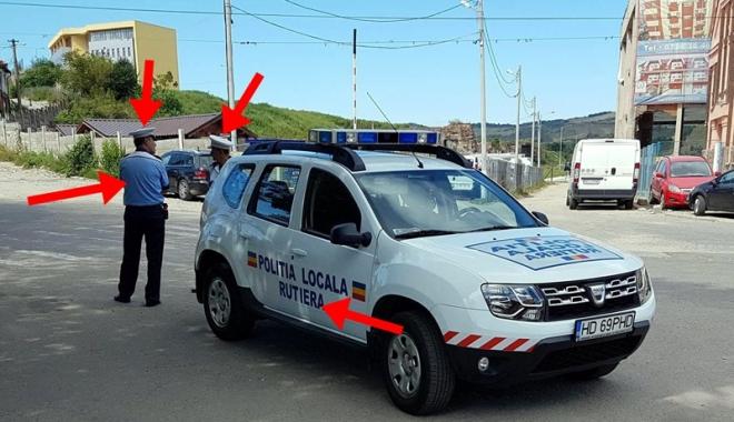 """Foto: Poliţia Locală îşi schimbă uniforma, dar năravul ba! """"Este mai uşor să pari ceea ce nu eşti"""""""