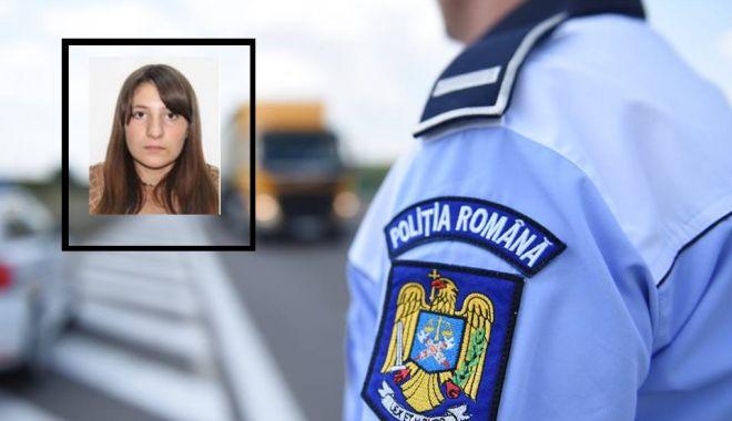 Foto: Adolescentă dispărută de la domiciliu de nouă zile, căutată de polițiști