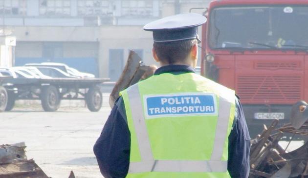 Foto: ACȚIUNE A POLIȚIȘTILOR DE LA TRANSPORTURI, la Constanța