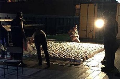 Foto: Poliţia turcă a capturat un remorcher cu 1.071 kilograme de heroină