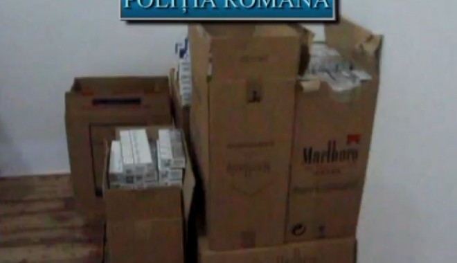 Percheziții în Medgidia și Constanța pentru prinderea unui contrabandist de țigări / VIDEO - politie-1322245509.jpg