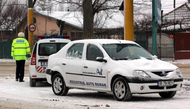 Foto: Poliţia în acţiune. Sute de şoferi amendaţi