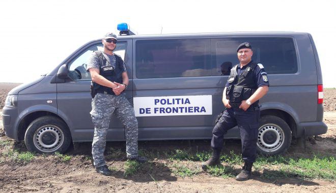 Foto: Polițist de frontieră, decorat de președintele României