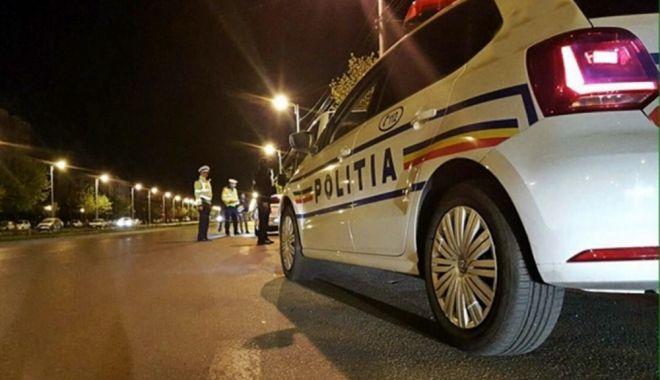 Foto: RAZIE LA CONSTANŢA! Poliţiştii, în acţiune pe străzi