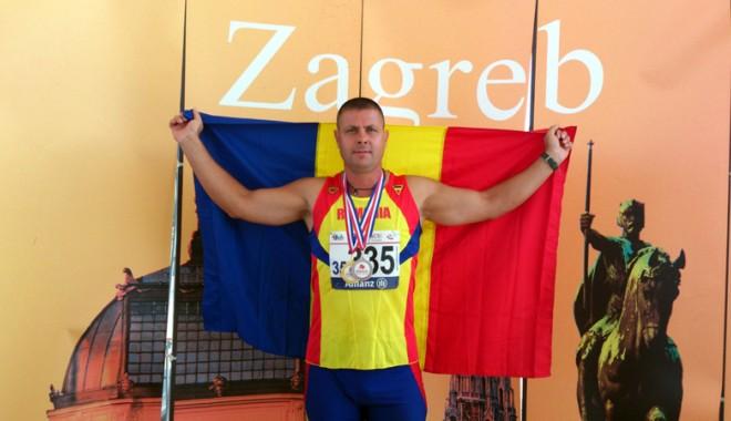 Foto: Poliţist din Mangalia, campion balcanic la atletism