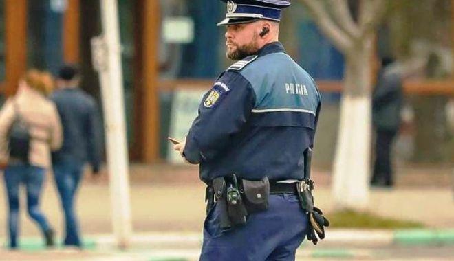 Foto: Poliţist constănţean, erou în timpul liber