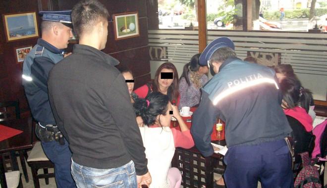 Foto: Jandarmeria �i Poli�ia au sc�zut absenteismul elevilor const�n�eni
