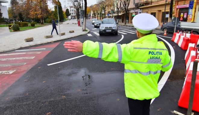 Poliţiştii şterg pe jos cu agenţii de la poliţia locală.