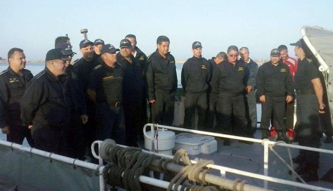 Foto: Poliţiştii de frontieră români au revenit acasă după patru luni de patrulare în Marea Egee