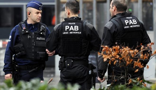 Foto: Poliţiştii belgieni  au reţinut un bărbat suspectat  de legături jihadiste