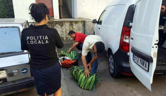 Foto: Vânzătorii ambulanţi, goniţi din pieţele constănţene