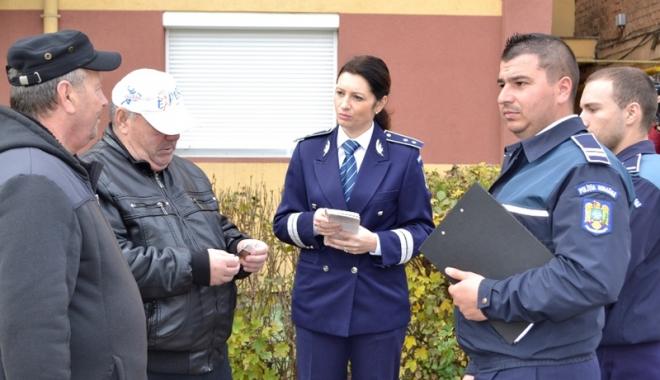 Foto: Poliţiştii au intensificat acţiunile  de prevenire din judeţul Constanţa