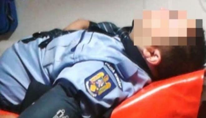CAZ REVOLTĂTOR LA CONSTANȚA! A dat cu mașina peste un polițist și i-a fracturat piciorul. Șoferul este liber! - politistlovit-1505118193.jpg