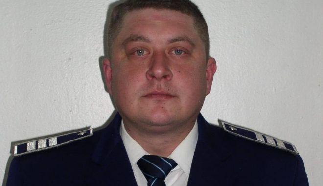 Foto: Doliu în Poliţia Constanţa. A murit agentul şef adjunct Dănuţ Jilavu