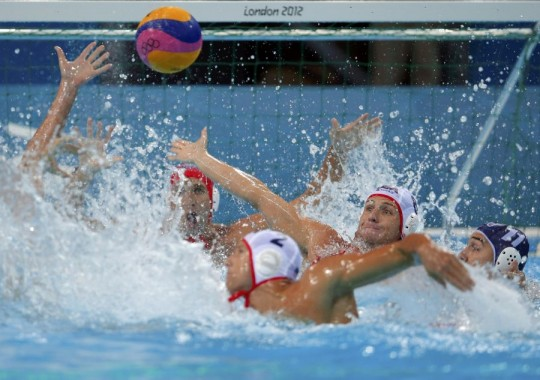 Foto: Jocurile Olimpice 2012: Polo - România a pierdut în faţa SUA, scor 8-10