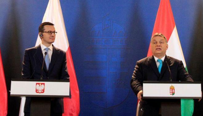 Foto: Polonia va bloca orice sancţiuni ale UE împotriva Ungariei