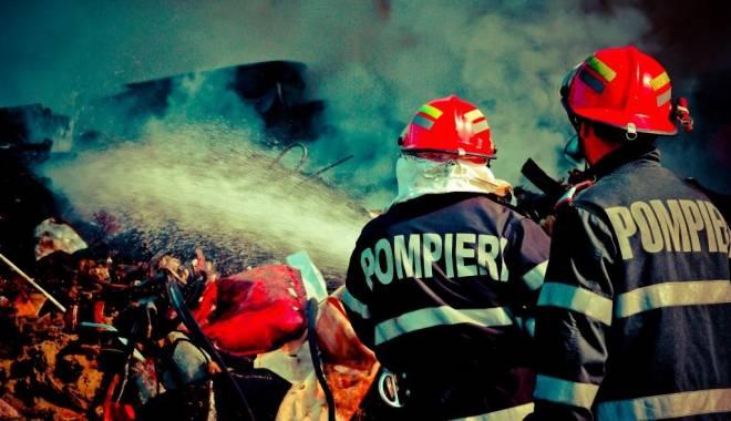 Foto: INCENDIU URMAT DE SCANDAL, în Constanţa!